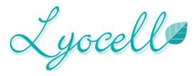 Logo Lyocell mit Blatt